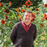 Chris Collins, one man & his organic plot April