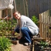 On the Allotment with Lucy Shepherd
