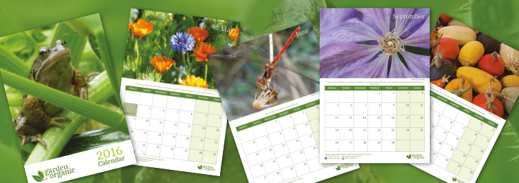 Treat yourself to one of our 2016 calendars