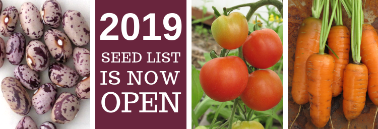 HSL Seed list is now open